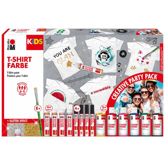 Marabu KiDS - T-Shirt Party Pack