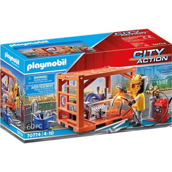 Playmobil® 70774 - Containerfertigung - Playmobil® City Action