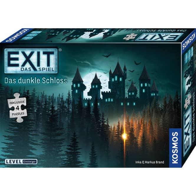 EXIT - Das Spiel - Das dunkle Schloss - inkl. 4 Puzzles