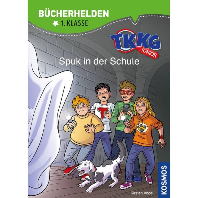 TKKG Junior - Spuk in der Schule - Bücherhelden 1.Klasse
