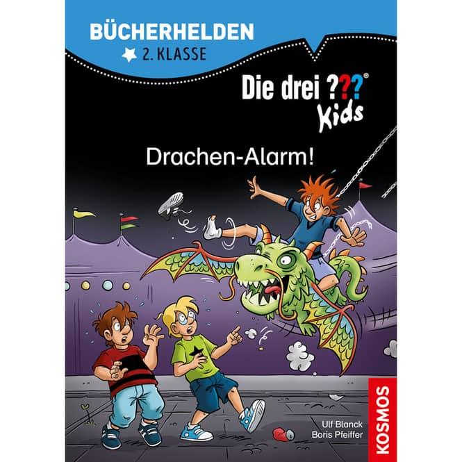 Die drei ??? Kids - Drachen-Alarm - Bücherhelden 2.Klasse