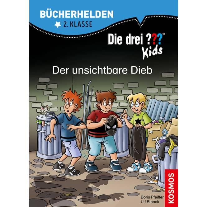 Die drei ??? Kids - Der unsichtbare Dieb - Bücherhelden 2.Klasse