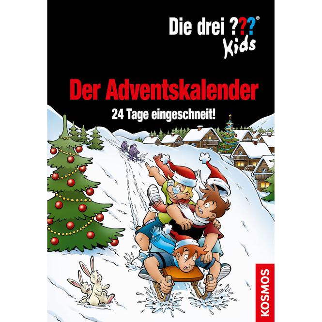 Die drei ??? Kids - Adventskalender Buch - 24 Tage eingeschneit!
