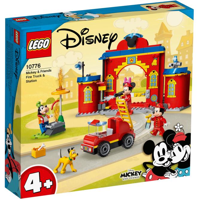 LEGO® Mickey & Friends 10776 - Mickys Feuerwehrstation und Feuerwehrauto