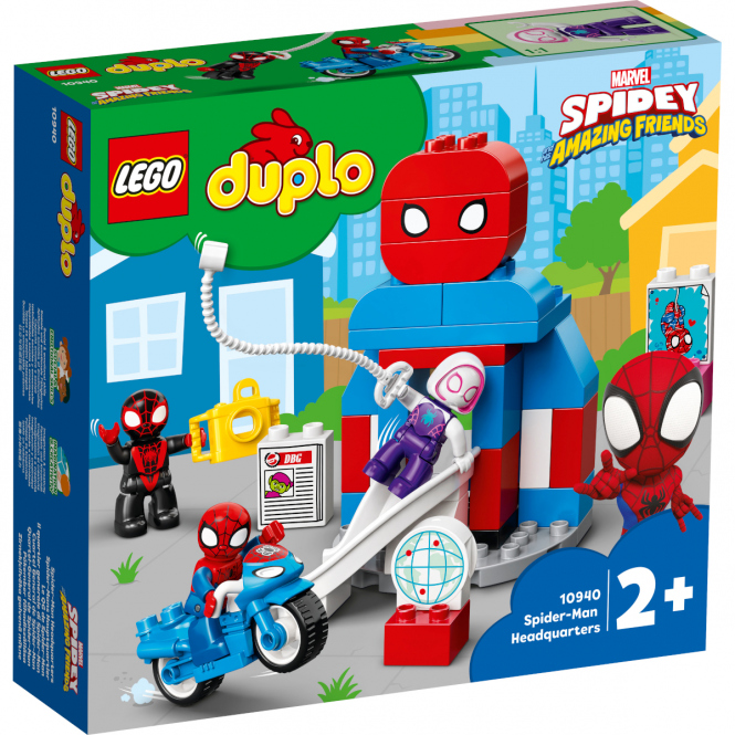 LEGO® DUPLO® Super Heroes 10940 - Spider-Mans Hauptquartier