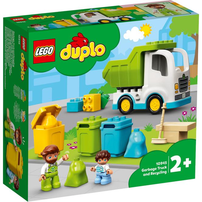 LEGO® DUPLO® Town 10945 - Müllabfuhr und Wertstoffhof
