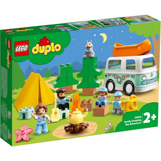 LEGO® DUPLO® Town 10946 - Familienabenteuer mit Campingbus