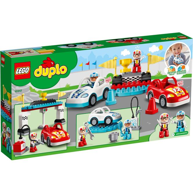 LEGO® DUPLO® Town 10947 - Rennwagen