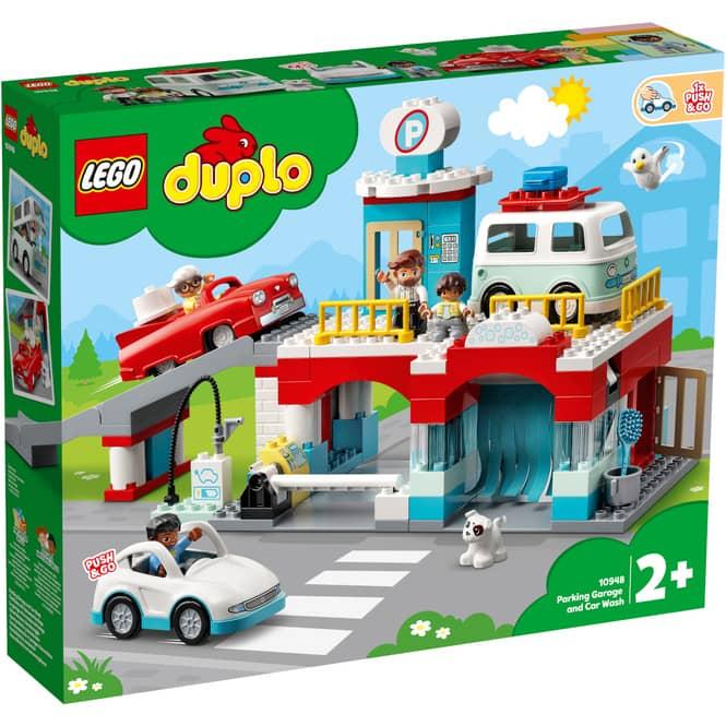 LEGO® DUPLO® Town 10948 - Parkhaus mit Autowaschanlage
