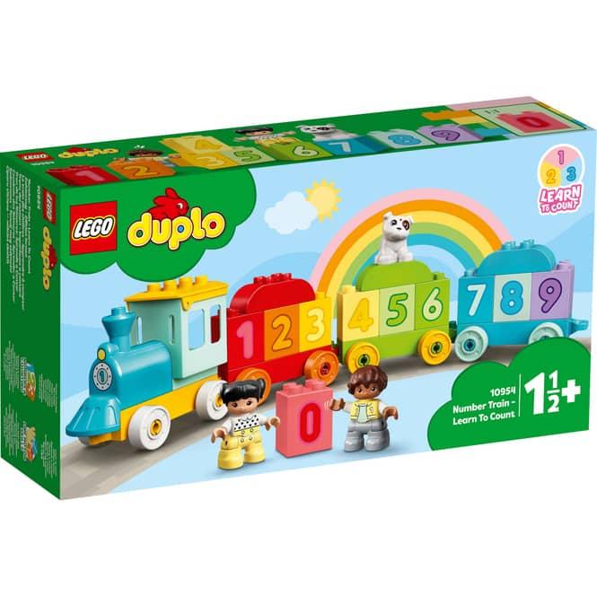 LEGO® DUPLO® Creative Play 10954 - Zahlenzug - Zählen lernen