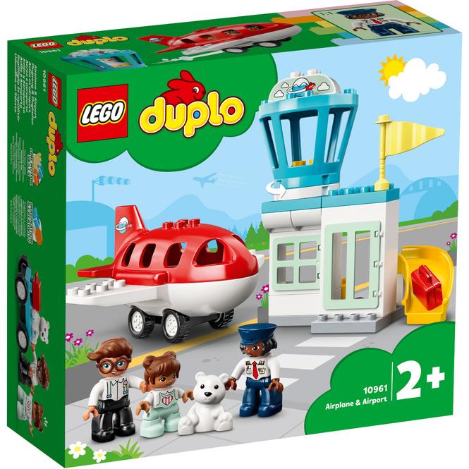 LEGO® DUPLO® Town 10961 - Flugzeug und Flughafen
