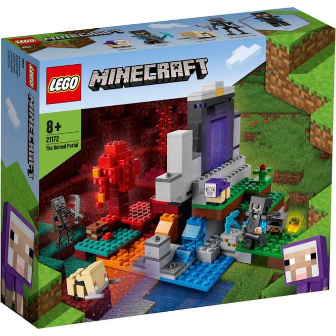 LEGO® Minecraft™ 21172 - Das zerstörte Portal