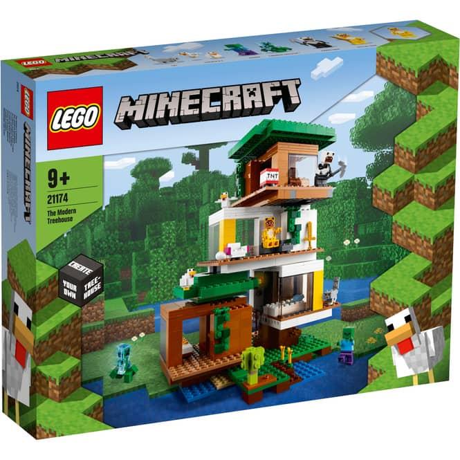 LEGO® Minecraft™ 21174 - Das moderne Baumhaus
