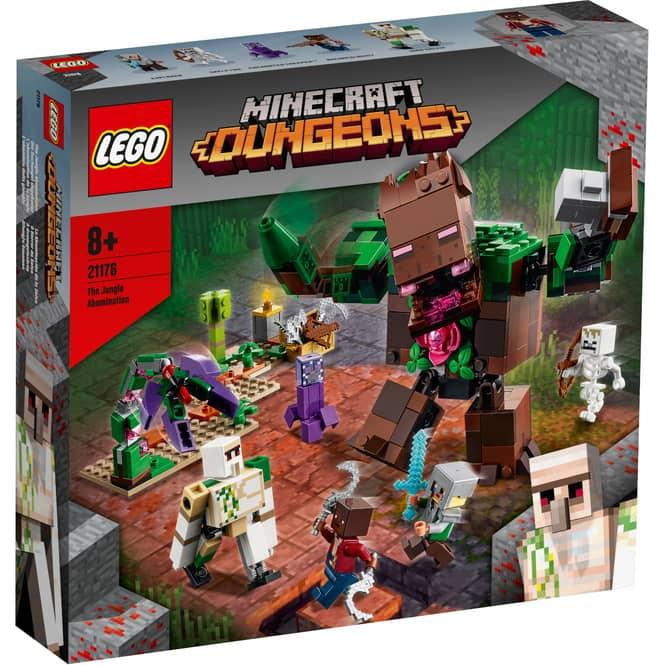 LEGO® Minecraft™ 21176 - Die Dschungel Ungeheuer