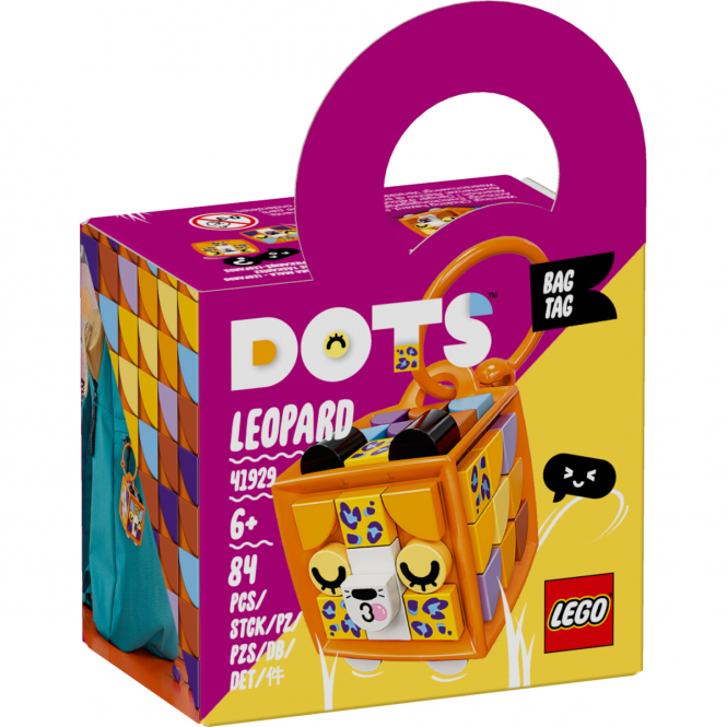 LEGO® DOTS 41929 - Taschenanhänger Leopard
