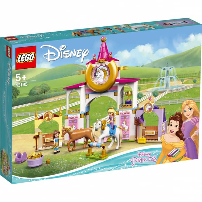 LEGO® Disney Princess™ 43195 - Belles und Rapunzels königliche Ställe