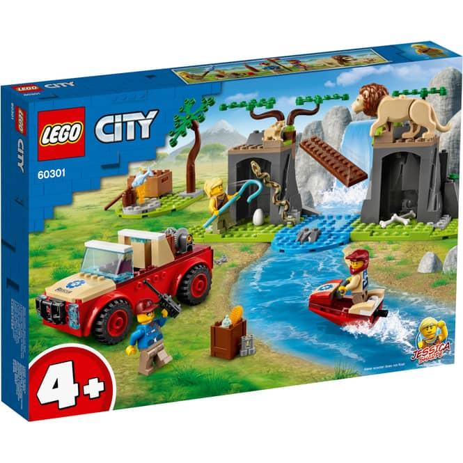 LEGO® City Stunt 60301 - Tierrettungs-Geländewagen