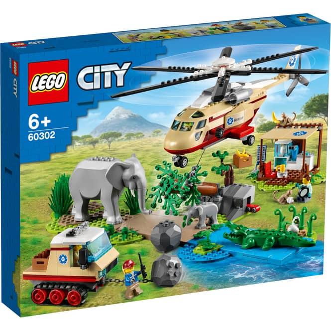 LEGO® City Stunt 60302 - Tierrettungseinsatz