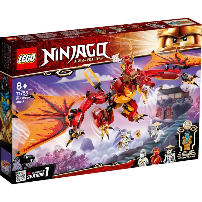 LEGO® NINJAGO® 71753 - Kais Feuerdrache