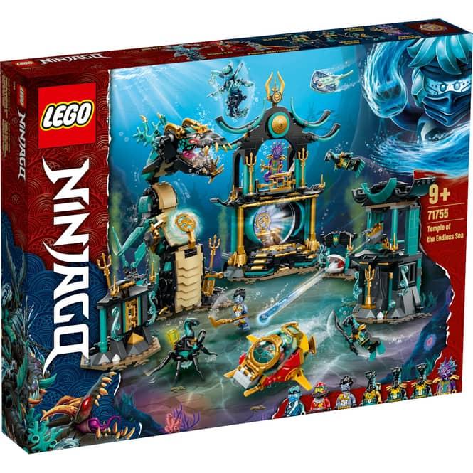 LEGO® NINJAGO®71755 - Tempel des unendlichen Ozeans