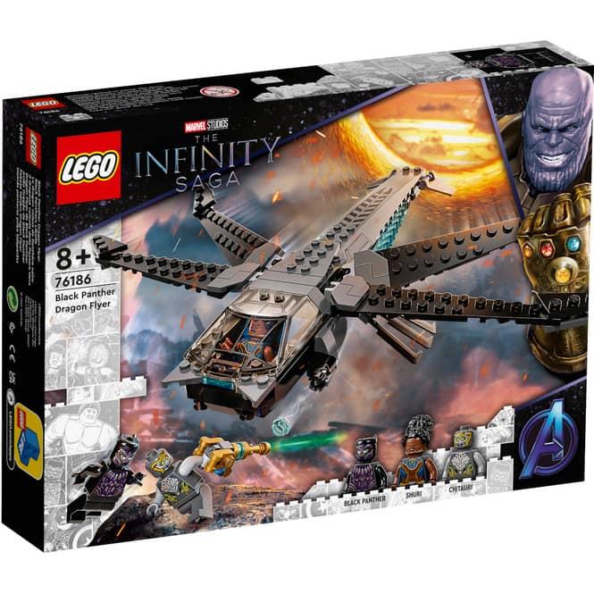 LEGO® Marvel 76186 - Black Panthers Libelle