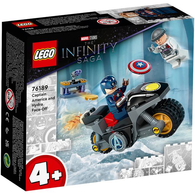 LEGO® Marvel 76189 - Duell zwischen Captain America und Hydra