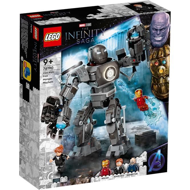 LEGO® Marvel  76190 - Iron Man und das Chaos durch Iron Monger