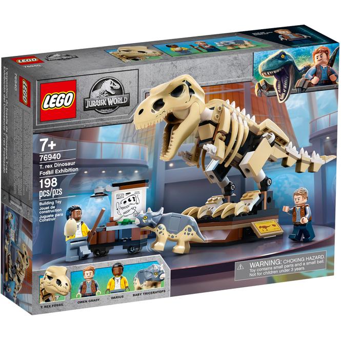 LEGO® Jurassic World™ 76940 - LEGO® Jurassic World™ T. Rex-Skelett in der Fossilienausstellung