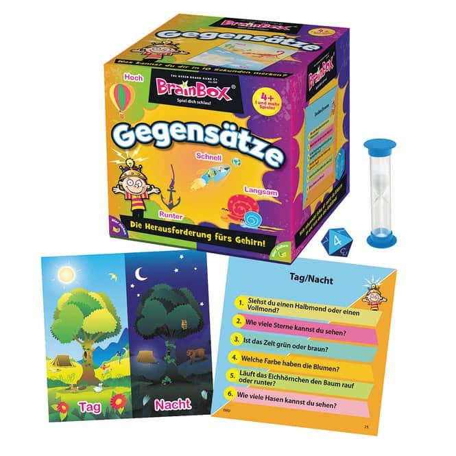 Brain Box - Gegensätze - Lernspiel