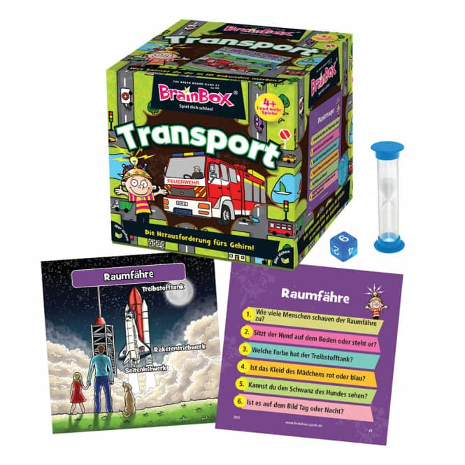 Brain Box - Transport - Lernspiel