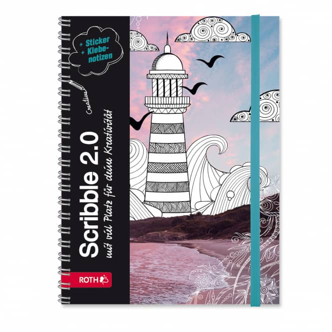 Schülerkalender - Scribble Timer 2.0 - Lighthouse