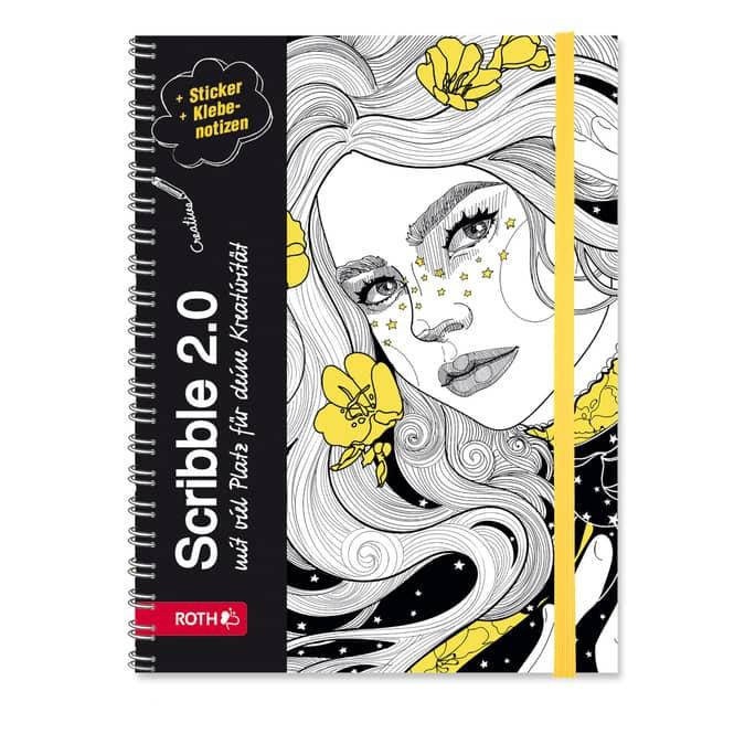 Schülerkalender - Scribble Timer 2.0 - Flower Power