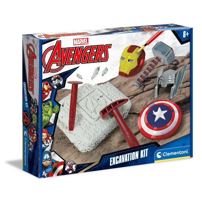 Marvel Avengers - Schatzsuche - Ausgrabungsset