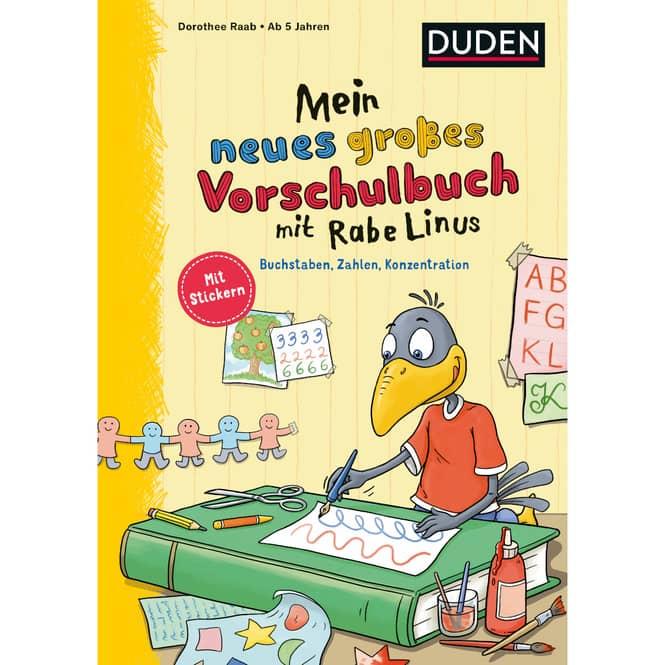 DUDEN - Mein neues großes Vorschulbuch mit Rabe Linus