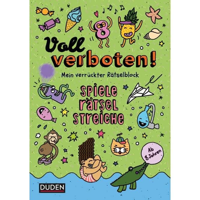DUDEN - Voll Verboten - Mein verrückter Rätselblock - Band 3