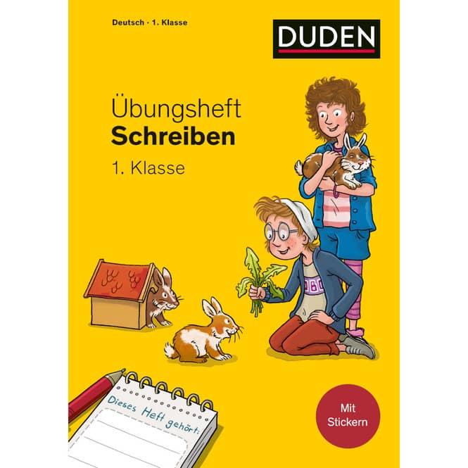 DUDEN - Übungsheft - Schreiben 1. Klasse