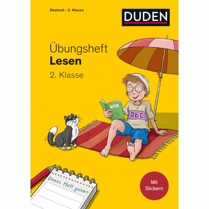 DUDEN - Übungsheft - Lesen 2. Klasse