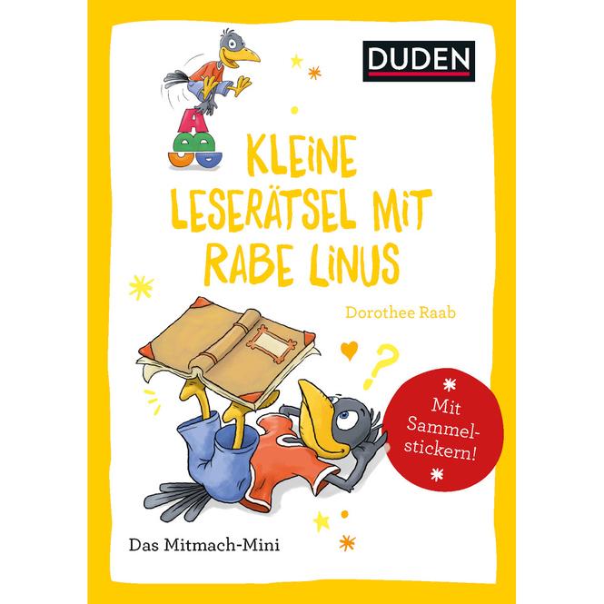 DUDEN - Kleine Leserätsel mit Rabe Linus