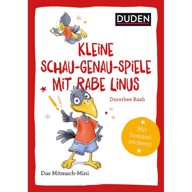 DUDEN - Schau-genau-Spiele mit Rabe Linus