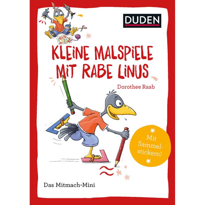 DUDEN - Kleine Malspiele mit Rabe Linus