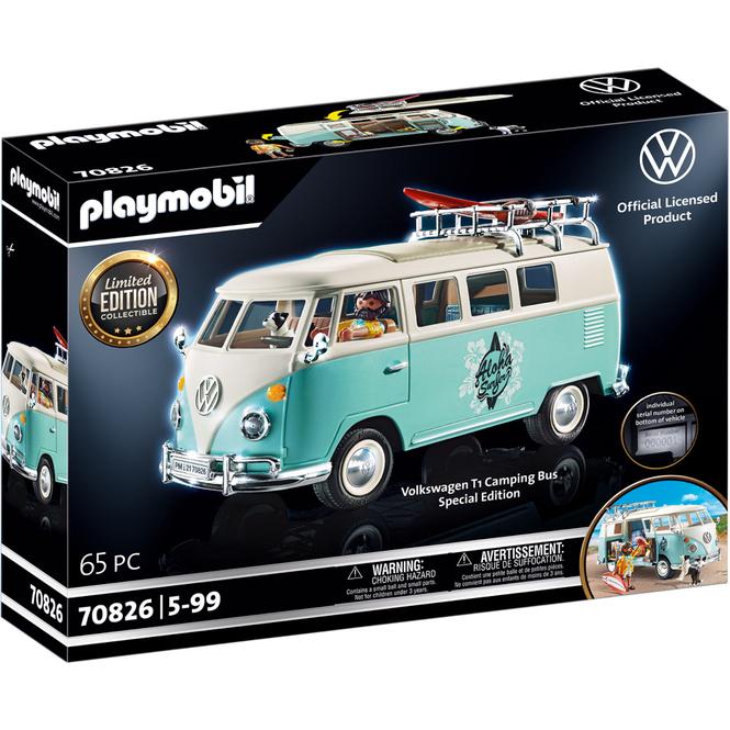 Playmobil® Volkswagen 70826 - Volkswagen T1 Camping Bus - Special Edition