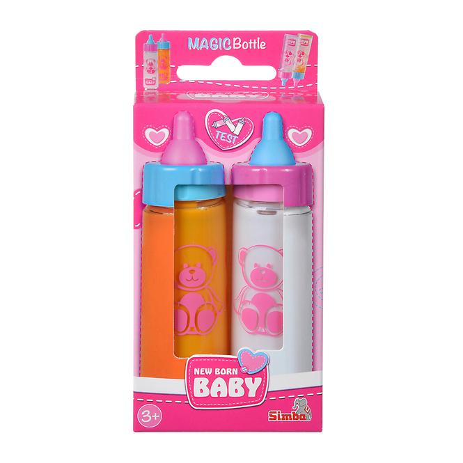 New Born Baby - 2 Magische Milchfläschchen
