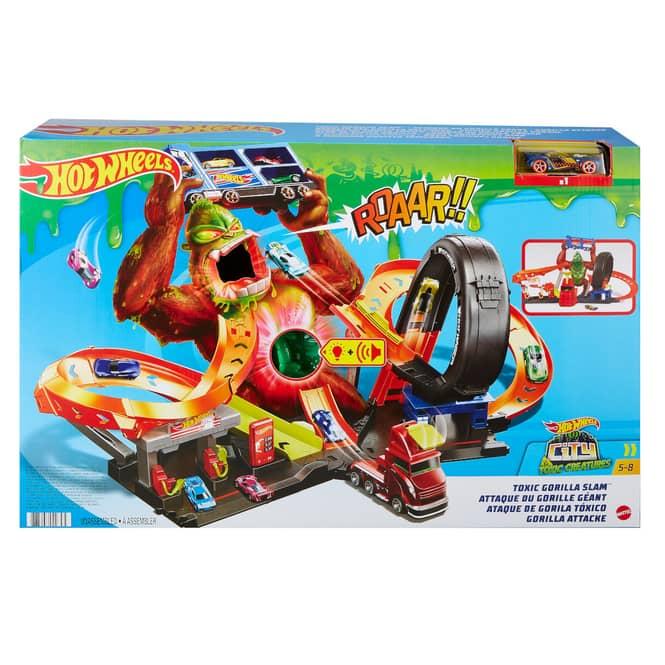 Hot Wheels Spielset City Slam Gorilla