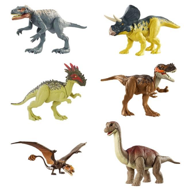 Jurassic World - Wild Pack Dinosaurier - 1 Stück