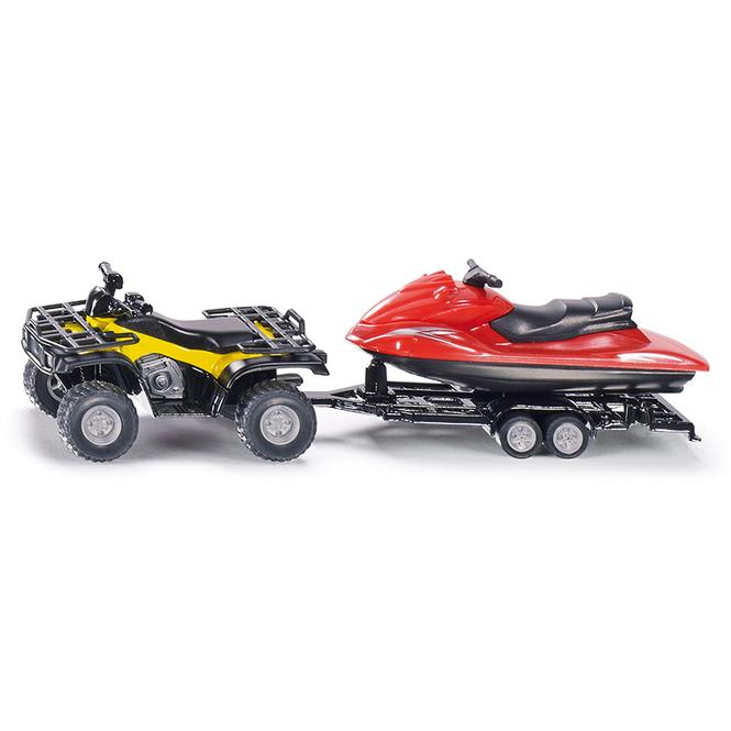 Siku Super 2314 - Quad mit Anhänger und Jet Ski - 1:55