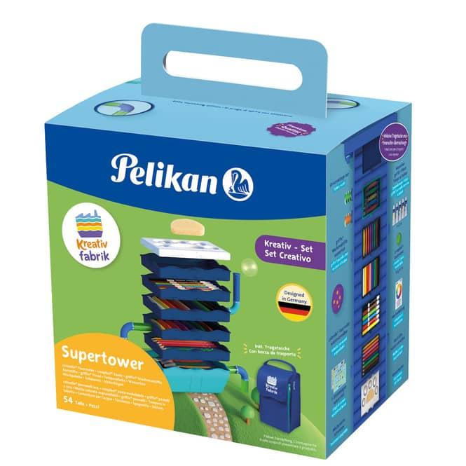 Pelikan - Kreativfabrik Supertower - 54-teilig