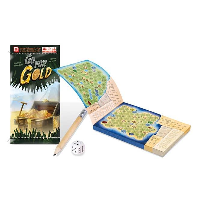 Go For Gold - Würfelspiel