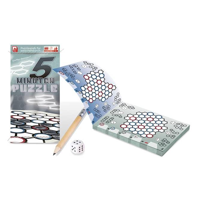 5 Minuten Puzzle - Würfelspiel