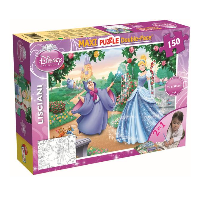 Disney Cinderella  - Maxi Puzzle - Double Face - 2-in-1