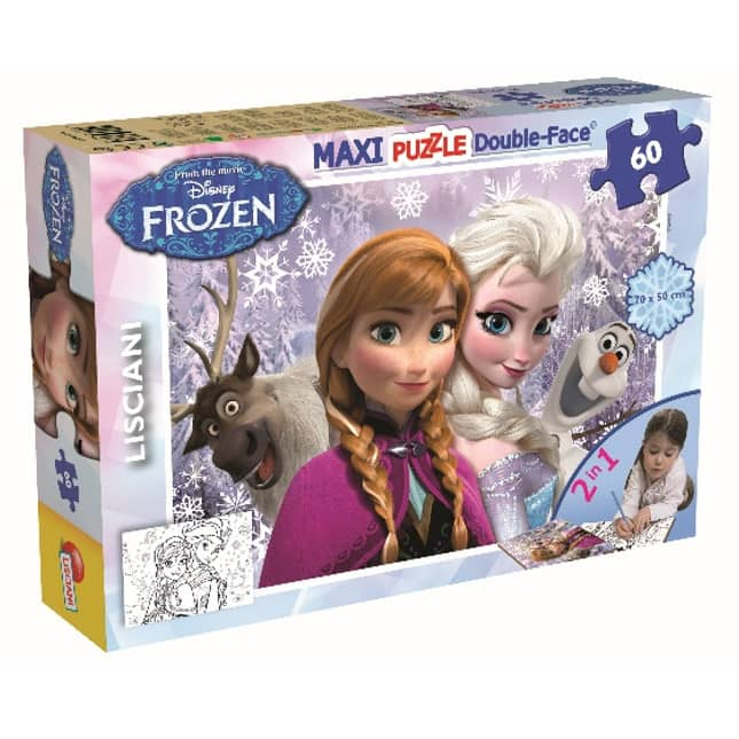 Die Eiskönigin 2  - Maxi Puzzle - Double Face - 2-in-1
